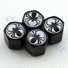 Car Wheel Tire Valve Stem Air Dust Covers Caps For Spider Araneid Set of 4