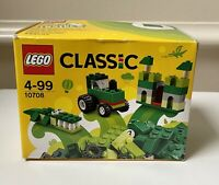 LEGO Classic Green Creativity Box Building Toy - 55 Pieces - 10708.  New in Box!