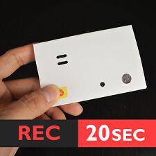 20s STICK-ON RECORDABLE light sensor voice module music box sound chip musical
