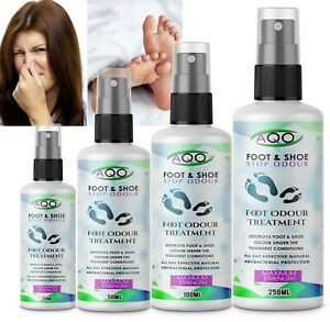 Feet Smelly Itching Foot DE-ODORISING Treatment  SPRAY