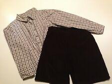 Boy 5-6 Brown 2 piece dressy outfit Strasbug BOUTIQUE Kellys Kids Thanksgiving