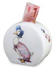 More details for reutter porcelain beatrix potter jemima puddle duck china money bank