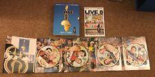 Live 8 (DVD, 2007, 4-Disc Set)