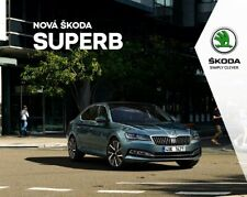 2020 MY Skoda Superb catalogue brochure Czech 120p.