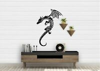 Tribal Dragon Inspired Design Home Decor Wall Art Decal Vinyl Stickers