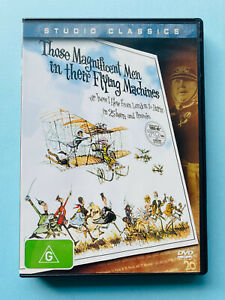 Those Magnificent Men In Their Flying Machines 🎬 DVD Region 4 PAL 🎬