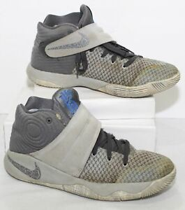 Nike Kyrie Irving 2 Sneakers 826673 Gray 2Tone Basketball Shoes Youth Size 5 Y