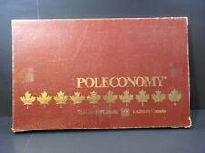 POLECONOMY The Board Game Of Canada-Whitman Golden - Bilingual E/F 100% COMPLETE
