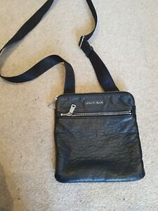 Armani Jeans Bag Men Black Uk Crossbody Money Wallet
