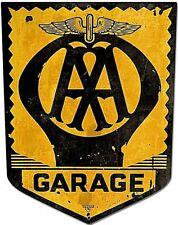 AA Garage Shield steel sign  460mm x 345mm  (pst)