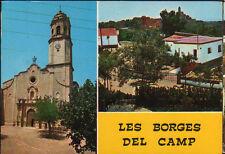 POSTAL DE LES BORGES DEL CAMP . TARRAGONA . MIRA MAS EN MI TIENDA CC1864