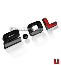 1 VW Volkswagen Jetta Passat GTI Golf GLI Black Emblem Badge 19mm 2.0L BLACK RED