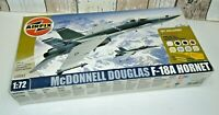 Airfix McDonnell Douglas F/A-18A Hornet 1:72 scale model kit A50043 With Paints.