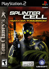 Tom Clancy's Splinter Cell: Pandora Tomorrow For PlayStation 2 PS2 Very Good 8E
