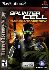 Tom Clancy's Splinter Cell: Pandora Tomorrow For PlayStation 2 PS2 Very Good 8E