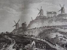 Canons de Paris portés à Montmartre, 15 Juillet 1789, REVOLUTION FRANCAISE,1794