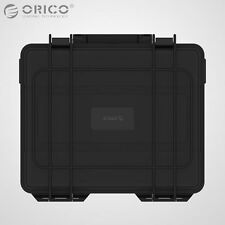 "ORICO Dual 2-Bay 3.5"" Hard Disk Drive Protective Box HDD Waterproof Storage Case"