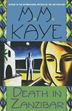 Death in Zanzibar by M. M. Kaye (1999, Paperback)