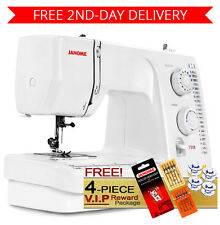 Janome 7318 Magnolia Sewing Machine w/ 4-Piece VIP Package + 2nd-Day Shipping