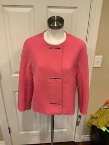 "Tahari Arthur S. Levine Pink ""Dahlia"" Jacket, Size 8, NWT!"