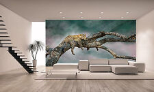 Leopard Wall Mural Photo Wallpaper POSTER PAPER GIANT WALL DECOR Free Glue