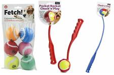 Dog Tennis Ball Launcher Thrower Chucker Pocket Rocket Short, Long, Exercise Fun