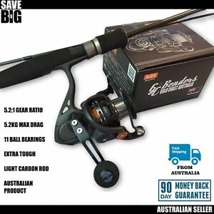 Fishing spin reel rod combos all rounder GC Benders back in stock be quick