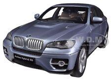 BMW X6 ACTIVE HYBRID BLUE WATER METALLIC 1/18 DIECAST MODEL CAR BY KYOSHO 08763