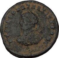 Constantius II  Constantine the Great  son 324AD Ancient Roman Coin Gate i35958