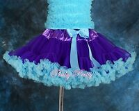 Girl Pettiskirt Petticoat Dance Tutu Birthday Skirt Child Age 2-8y PP001A