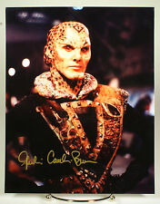 Julie Caitlin Brown signed 8x10 photo w/coa from Babylon 5