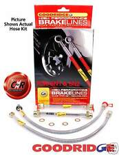 Polo 6N1 & 6N2 Goodridge Braided Brake Hose Lines: G8.2 - 4 Line Kit - VW