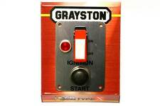 Motorsport Starter Panel Switch with Push Button & Light - 30 Amp (GE343)