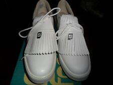 Foot Joy / Soft Joy Ladies Spiked Golf Shoe Vintage Leather Oxford USA RARE 6A
