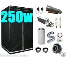 250w cooltube kits and duct fan Ventilation System Grow Tent - Hydroponic setup