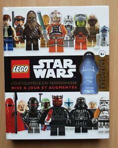 LIVRE LEGO STAR WARS ENCYCLOPÉDIE DES PERSONNAGES 300 FIGURINES SECRETS JEDI