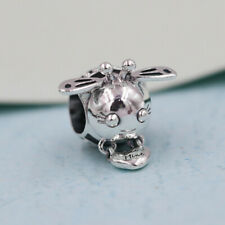 New 100% Authentic Silver Bee Mine Charm Bead