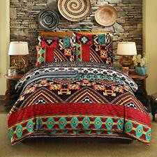 wide smile Mandala Boho Bohemian Bedding Duvet Cover Set Double Size Duvet Quilt