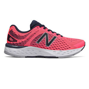 New Balance Womens 680v6 Running Shoes Trainers Sneakers Pink Sports Breathable