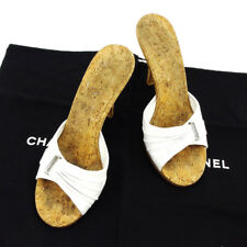 CHANEL Mule Ladies Authentic Used T4015