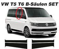 VW T5 T6 BUS B-Säulen Aufkleber Set Links & Rechts