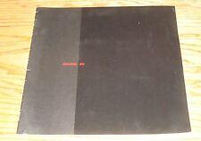 Original 1991 Acura Full Line Sales Brochure 91 NSX Integra Legend