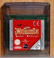 DRACULA CRAZY VAMPIRE - GAME BOY COLOR - VERSION ESPAÑA - CARTUCHO