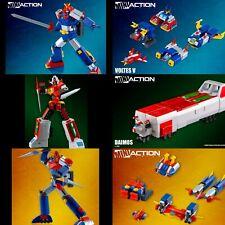 PRE-ORDER for ACTION TOYS MINI ACTION VOLTES V, DAIMOS, COMBATTLER SUPER ROBOT