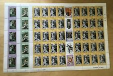FULL SHEETS Sierra Leone 1986 760-2 - QE2 60th BDay - Set of Sheets - MNH