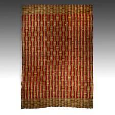 NWENTOMA KENTE CEREMONIAL CLOTH ASHANTI STRIP WOVEN RAYON GHANA WEST AFRICA