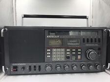 Grundig satellit Professional 650 mundo destinatarios seefunkzulassung radio rareza