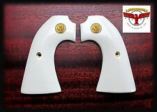 COLT BISLEY MAGNA-TUSK™  IVORY GRIPS ~ SINGLE ACTION ARMY ~ SAA + GLE Med