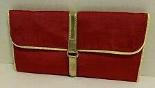 Jewlery Fold Up Travel Case Jewlery Organizer Multi Sections Excellent condition