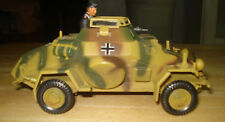 SdKfz 222 ARMORED CAR  21st CENTURY ULTIMATE SOLDIER 1/32 SCALE w CREW Figure